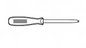 šroubováky s hrotem pro drážku UNIQUADREX