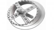 frézka na zátky do polystyrénu - plastová